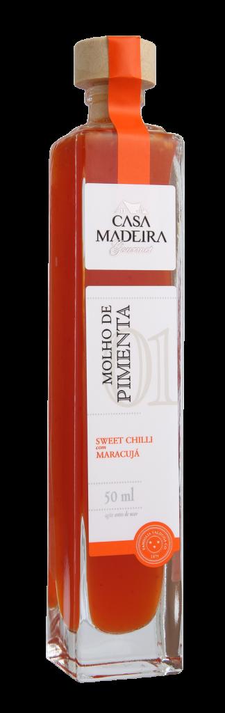Molho de Pimenta Sweet Chilli com Maracujá