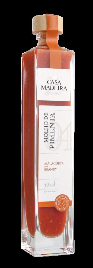 Molho de Pimenta – Malagueta com Brandy