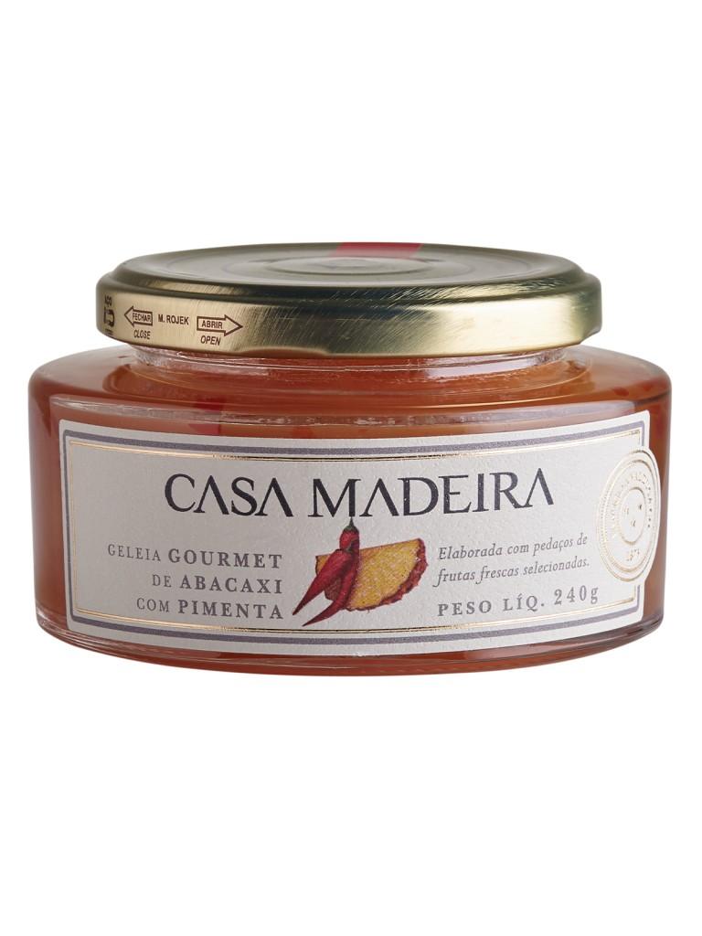 Geleia Gourmet de Abacaxi com Pimenta