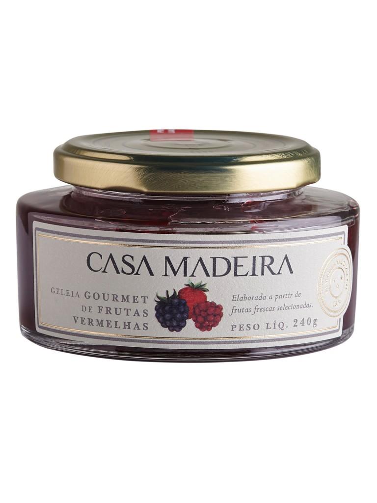Geleia Gourmet de frutas vermelhas