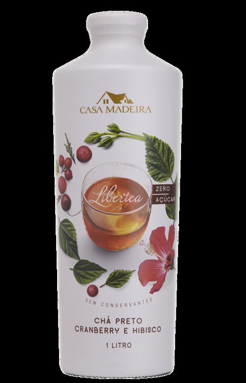 Chá Preto com Cranberry e Hibisco