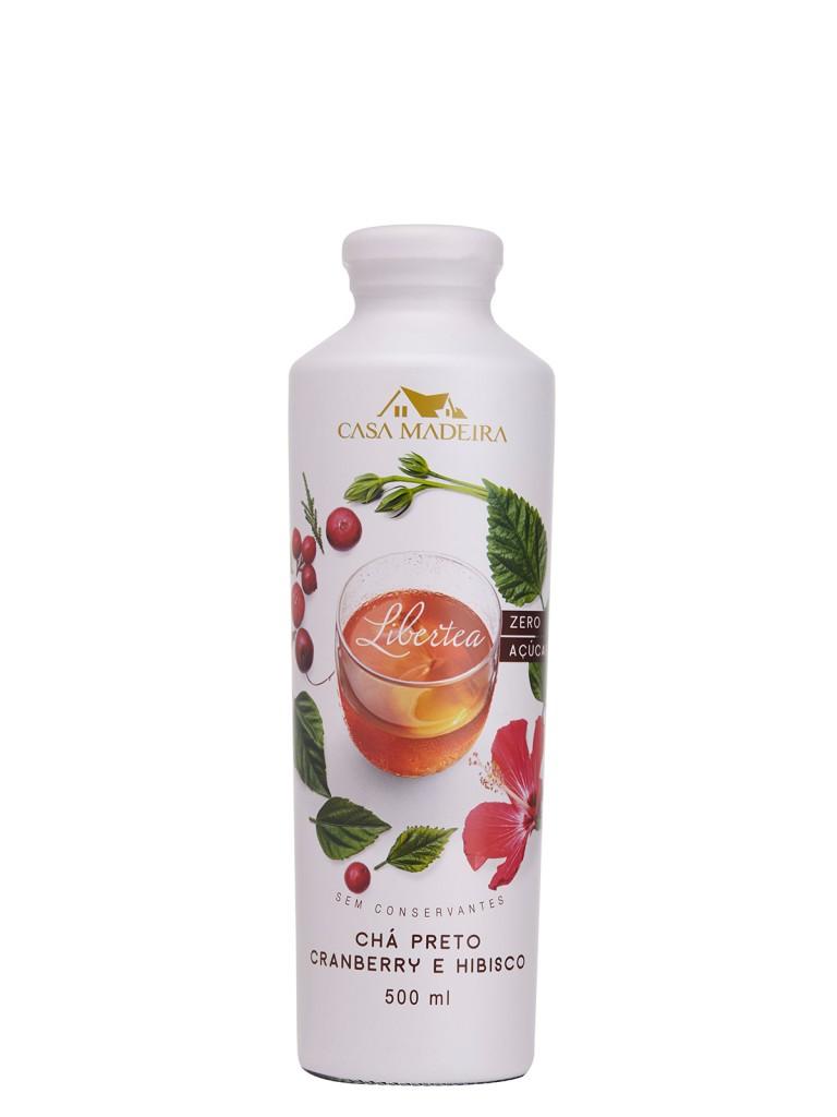 Chá Preto com Cranberry e Hibisco 500 ml