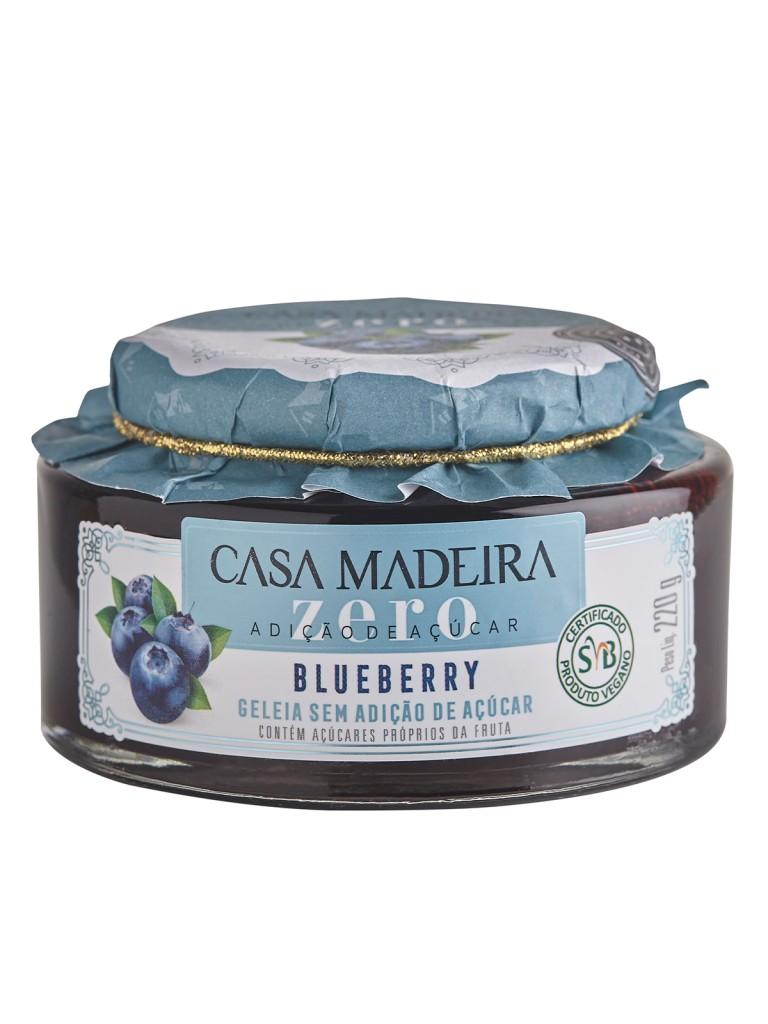 Geleia Zero Adição de Açúcar de Blueberry